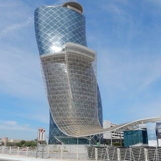 Abu Dhabi, architettura moderna