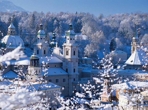 Salisburgo, inverno