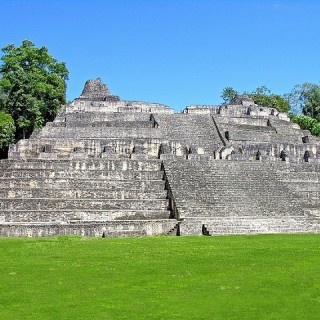 Belize, tempio di Caana presso il sito archeologico Caracol