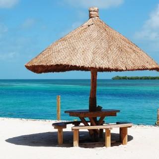 Belize, spiaggia