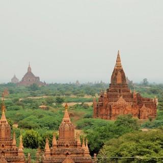 Birmania, pagoda a Bagan