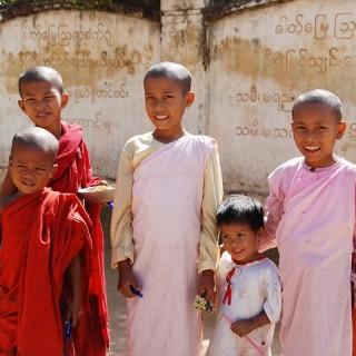 Birmania, bambini