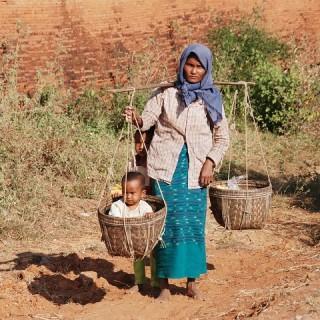 Birmania, donna