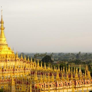 Birmania, tempio