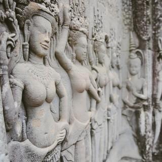 Cambogia, tempio