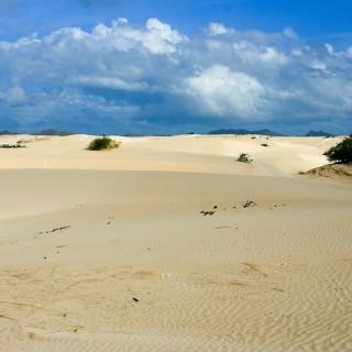 Capo Verde, deserto a Boa Vista