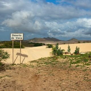 Capo Verde, deserto di Viana