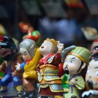 Cina, bambole di terracotta