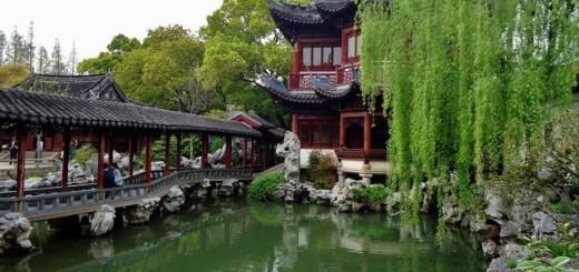Cina, giardino
