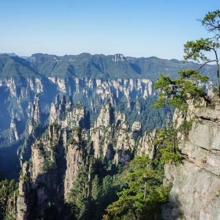 Cina, parco Zhangjiajie