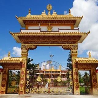 Tibet, monastero