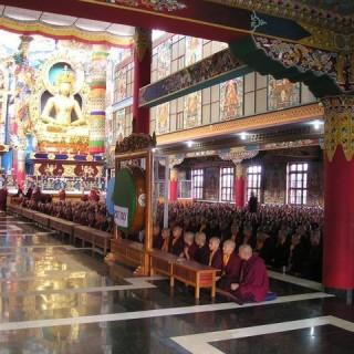 Tibet, tempio