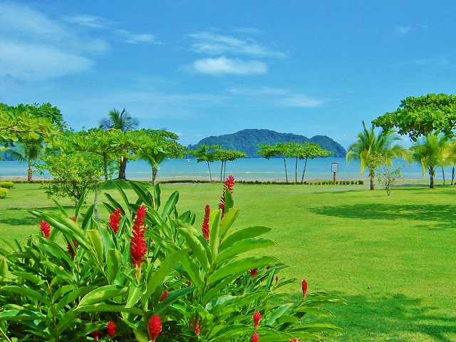 Costa Rica, giardino