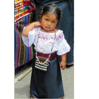 Ecuador, bambina