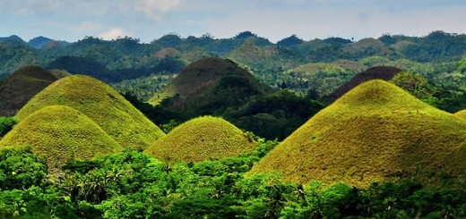 Filippine, Chocolate hills