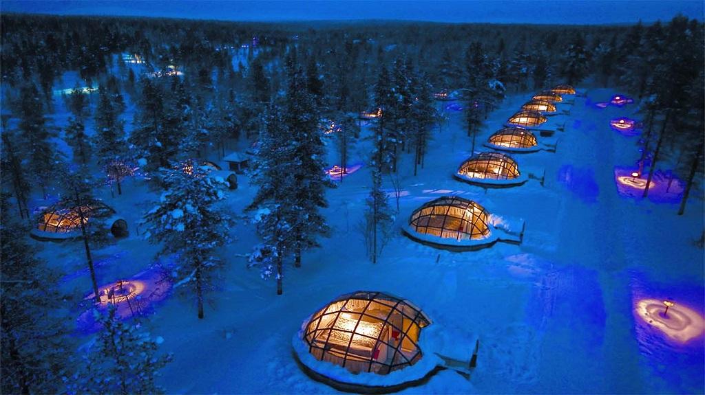 Finlandia, Kakslauttanen