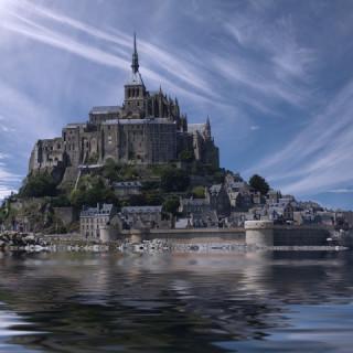 Francia, Mont Saint Michel
