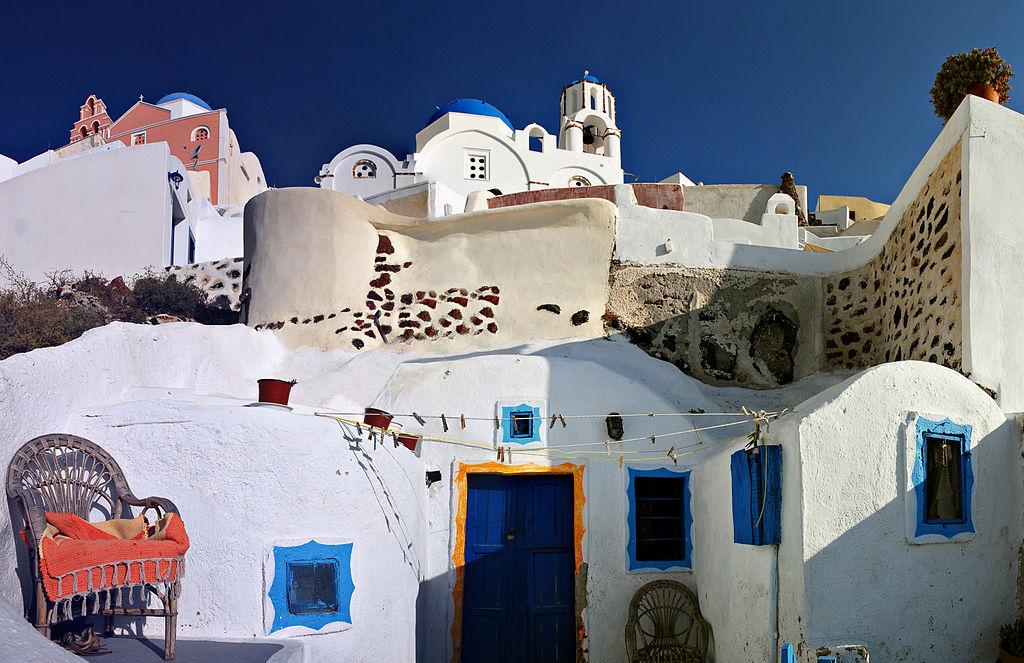 Grecia, case