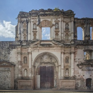 Guatemala, edificio storico