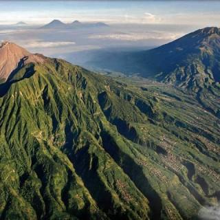 Indonesia, vulcano Merapi