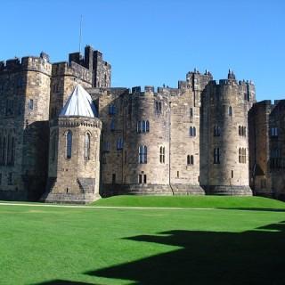 Inghilterra, castello di Alnwick