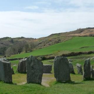 Irlanda, stone ring