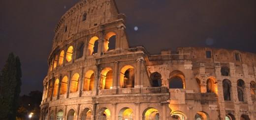 Roma, Colosseo di notte