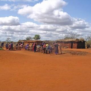 Kenya, villaggio Masai