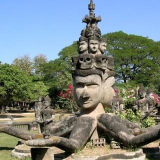 Laos, Buddha Park