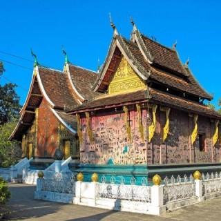Laos, tempio