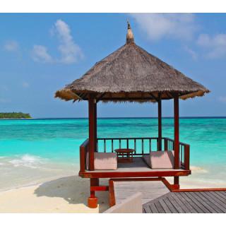 Maldive, beach hut