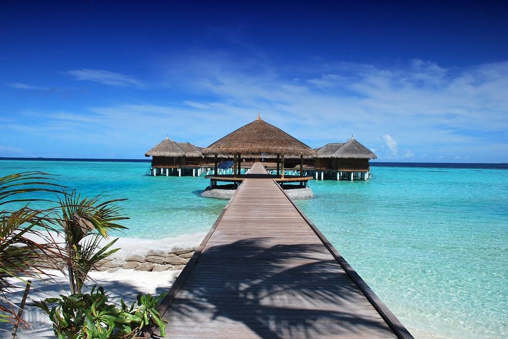 Maldive, mare, tropici