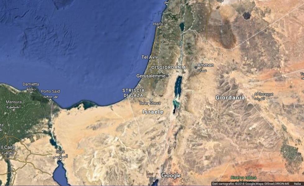 Cartina Israele Giordania.Il Periodo Migliore Per Un Viaggio In Israele