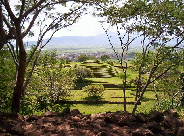 Messico, zona archeologica Guachimontones