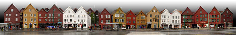 Bergen, Norvegia, crociera nord Europa
