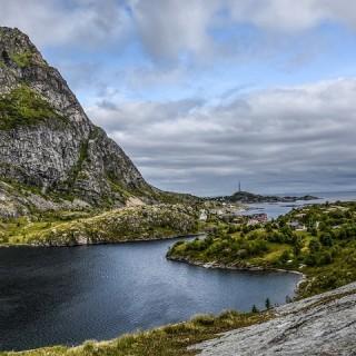 Norvegia, fiordo