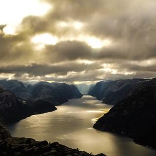 Norvegia, Lysefjord