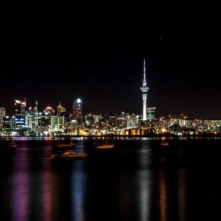 Nuova Zelanda, Auckland di notte