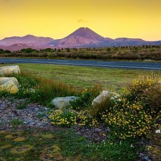 Nuova Zelanda, vulcano Tongariro