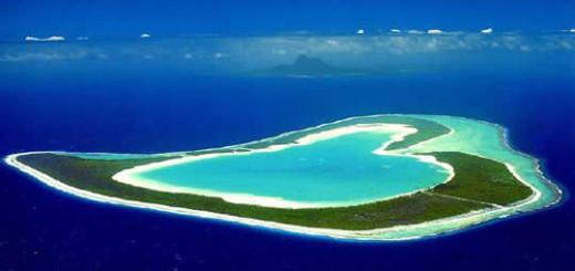 Polinesia Francese, isola di Tupai