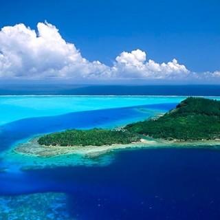 Polinesia, mare