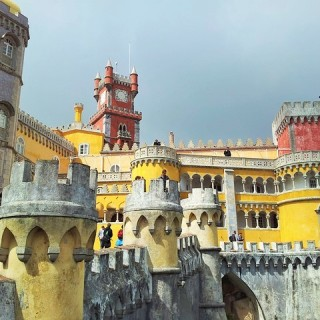 Portogallo, castello di Sintra