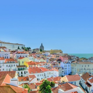 Portogallo, quartiere Alfama a Lisbona