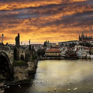 Praga, fiume Moldava