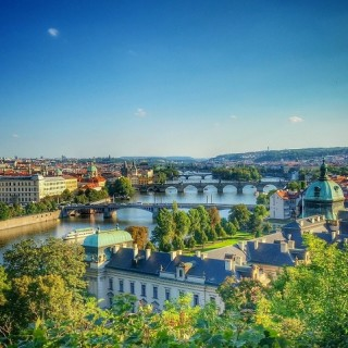 Praga, panorama