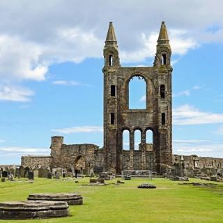 Scozia, cattedrale di Saint Andrews