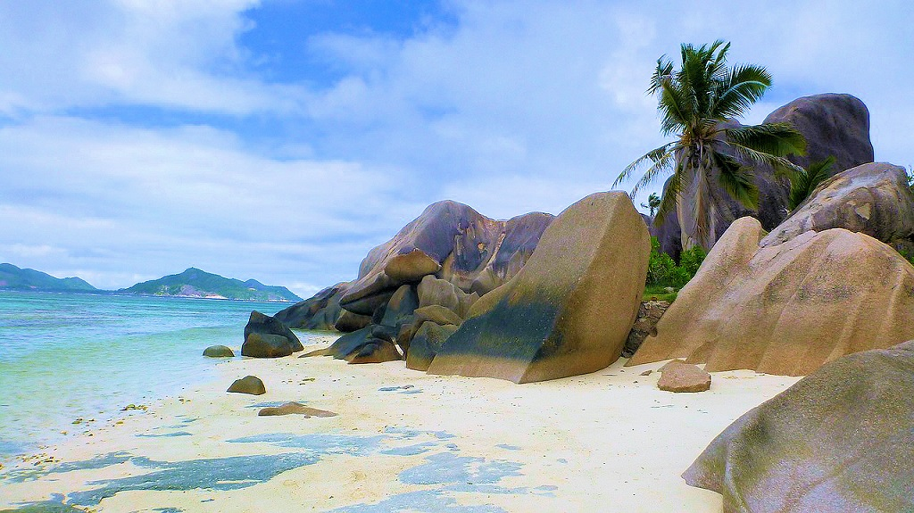Seychelles, spiaggia