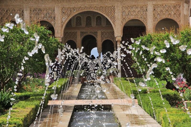 Andalusia, l'Alhambra a Granada