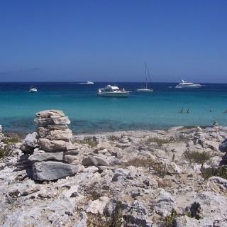 Formentera, Trocador e Platja de LLevant