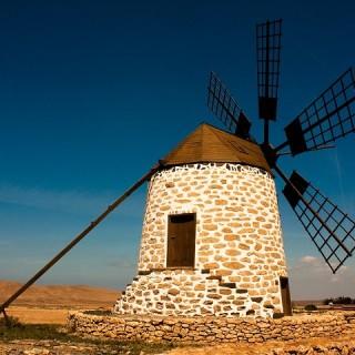Fuerteventura, mulino a vento